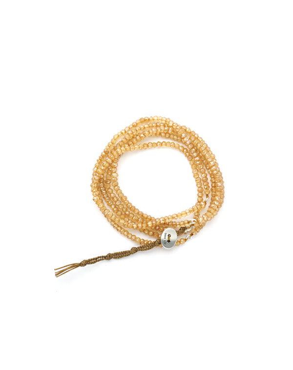 Chan Luu Citrine Naked Wrap