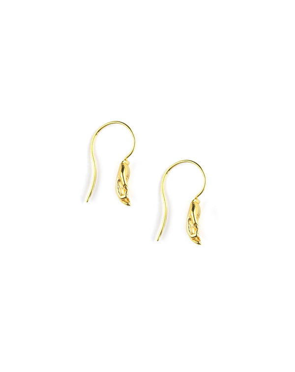 Chan Luu Gold Hamsa Earrings