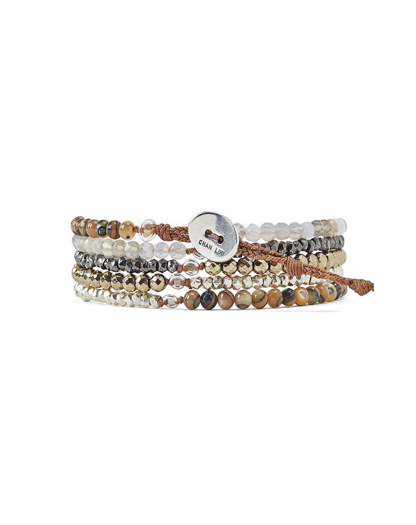 Chan Luu Pyrite Mix Naked Wrap