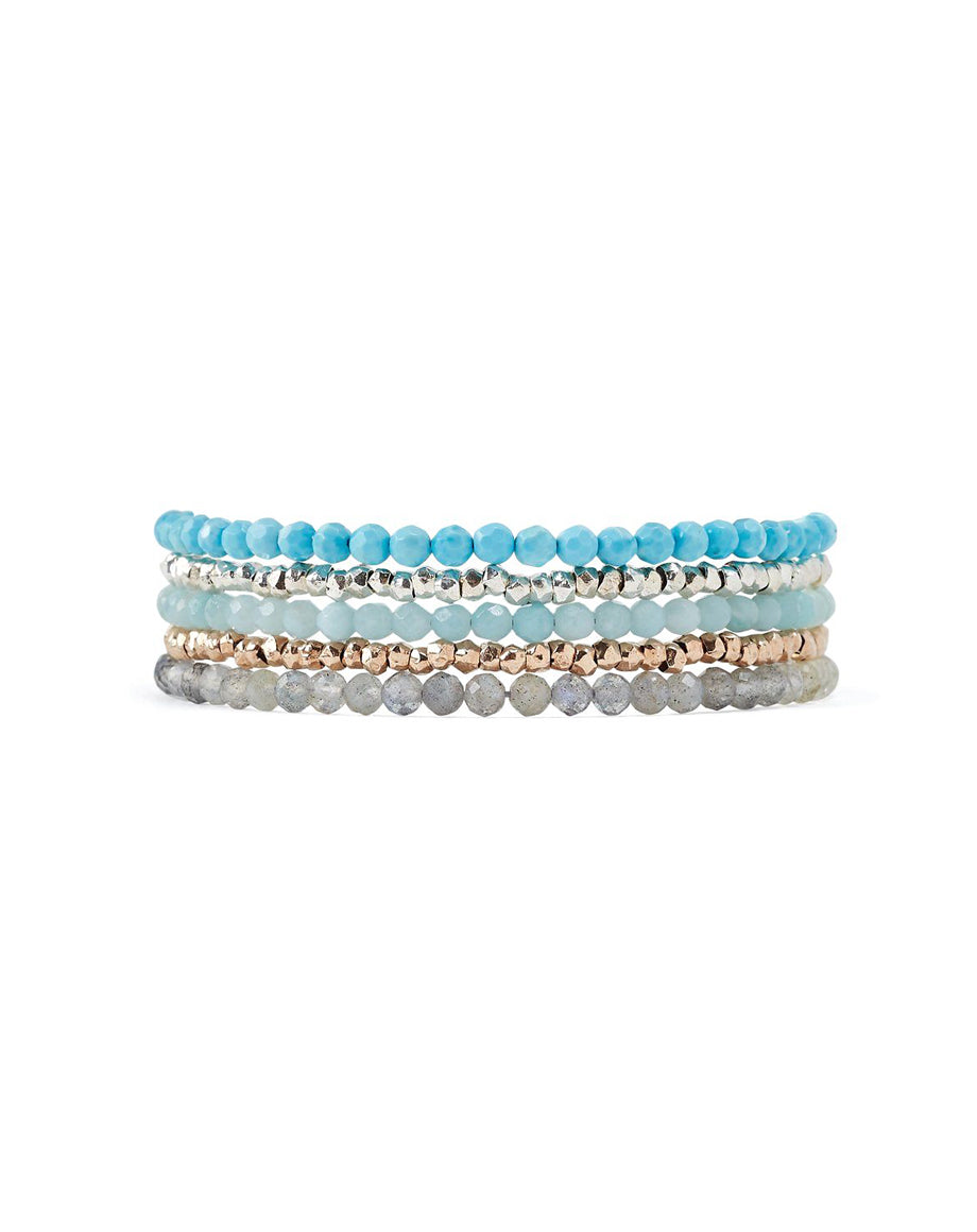 Chan Luu Turquoise Mix Naked Wrap
