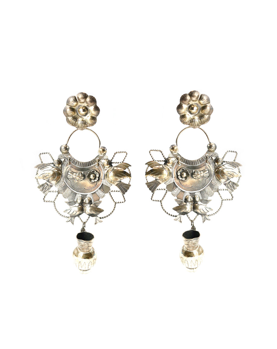 Federico Amore Pitcher Chandelier Earrings