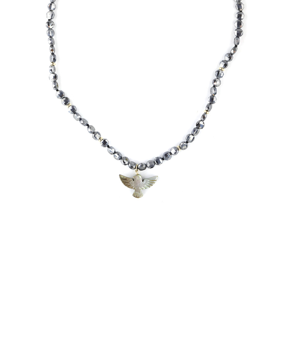 Thunderbird Hematite Necklace