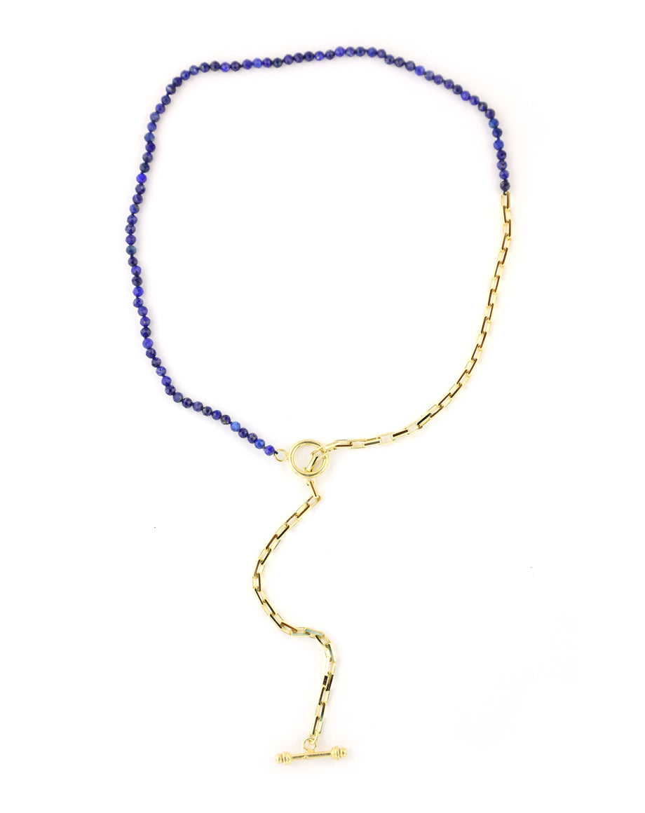 lapis lariat necklace