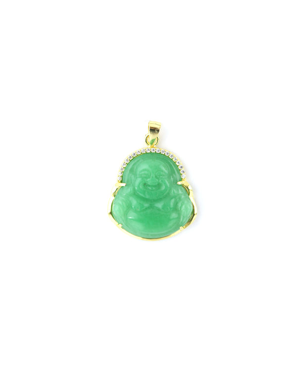 Large Green Halo Buddha