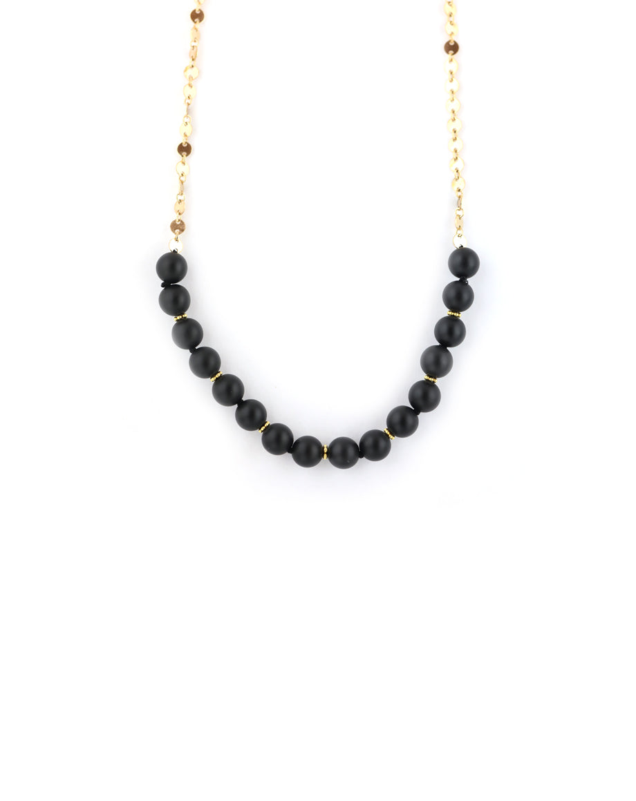 Matte Onyx Necklace