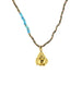 Pyrite Gold Buddha Necklace