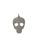 Large Diamond Skull Pendant
