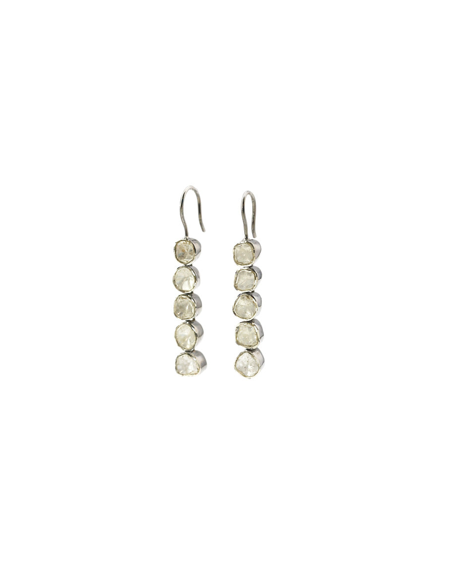 Diamond Polki Dangle Earring