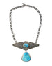 Authentic Turquoise Thunderbird Necklace