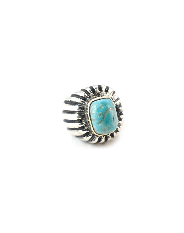 Dian Malouf Turquoise Line Ring