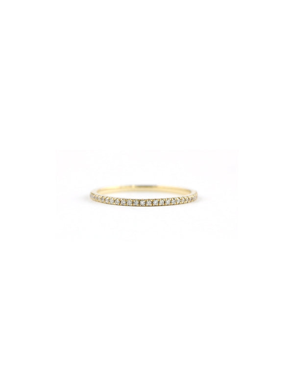14K Gold Diamond Eternity Ring