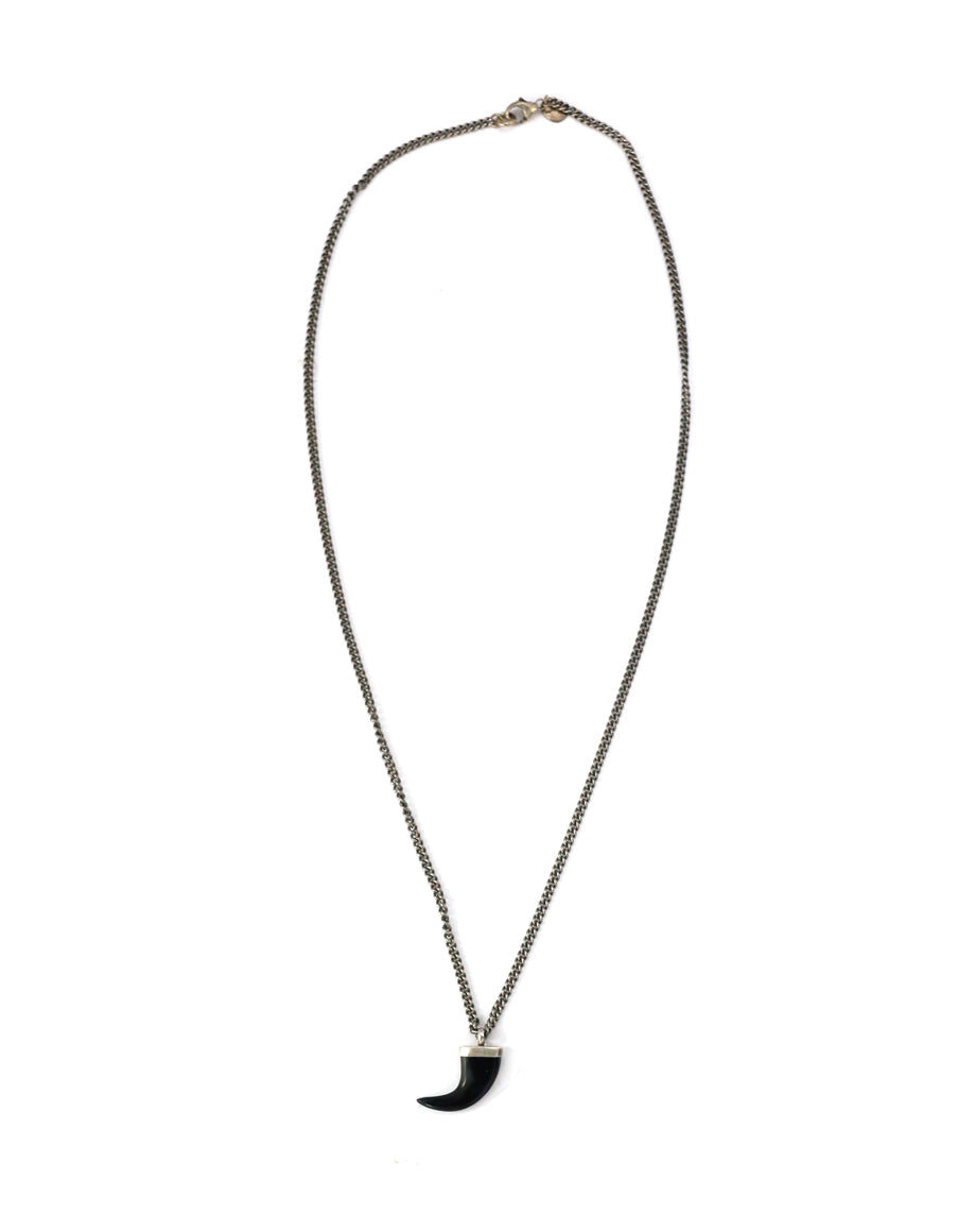 Chan Luu Black Horn Necklace