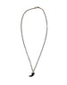Chan Luu | Black Horn Necklace