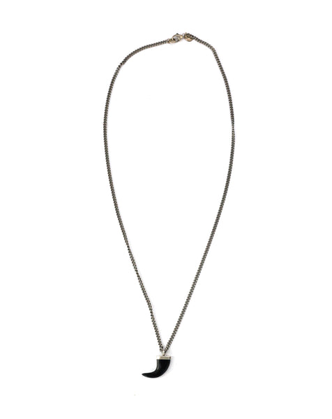 e8b2f5b4567f5 Chan Luu | Black Horn Necklace