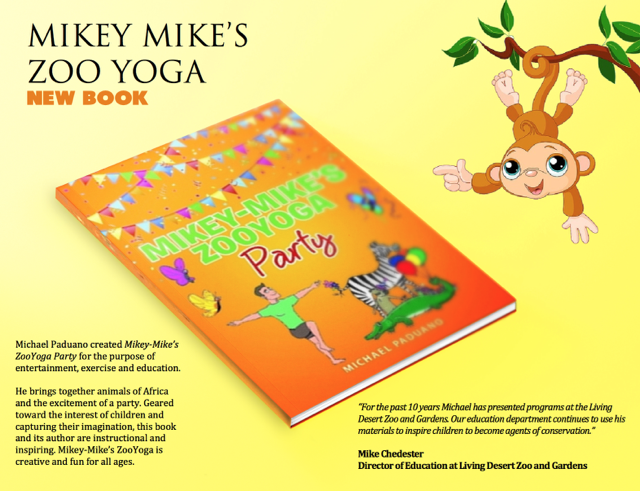 Mikey-Mike's Zoo Yoga Adventure Set