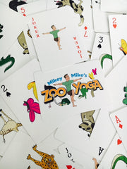Mikey-Mike's ZooYoga 52-Card Deck
