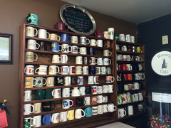 Coffee Mug Display