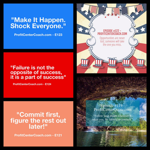 profit center coach small business motivation week in review
