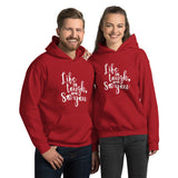 Life Is Tough So Are You - Unisex Hoodie Sweatshirt - The Entrepreneur In Me Says - Motivation Inspiration Gift for Small Business Owner