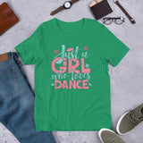Just a Girl Who Loves Dance - Short-Sleeve Unisex T-Shirt