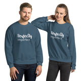 Perfectly Imperfect - Unisex Sweatshirt - The Entrepreneur In Me Says - Motivation Inspiration Gift for Small Business Owner