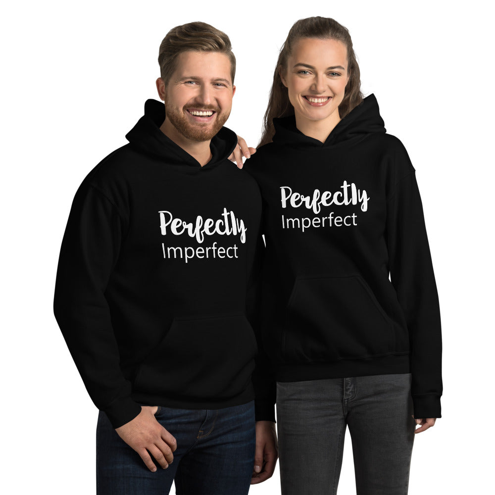 Perfectly Imperfect - Unisex Hoodie Sweatshirt - The Entrepreneur In Me Says - Motivation Inspiration Gift for Small Business Owner