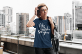WOMEN'S LARGE - The Entrepreneur In Me Says - T Shirts for Inspiration and Motivation Gift