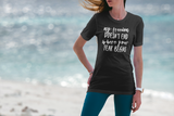 My Freedom Doesn't End Where Your Fear Begins - Unisex Ultra Cotton Tee