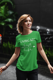 WOMEN'S SMALL - The Entrepreneur In Me Says - T Shirts for Inspiration and Motivation