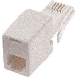 Dencon Adaptor to allow US Telephone Plug to use UK Socket