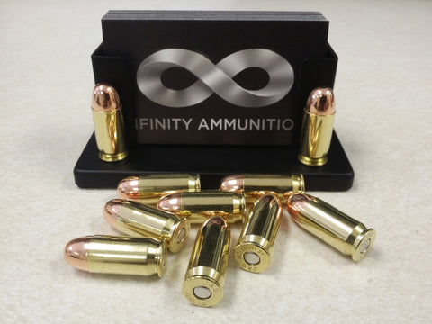 Infinity Ammunition .45 ACP, 230 grain CMJ, FACTORY LOADED, NEW BRASS