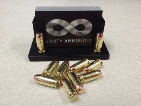 Infinity Ammunition .40 S&W, 180 grain CMJ, FACTORY LOADED, NEW BRASS