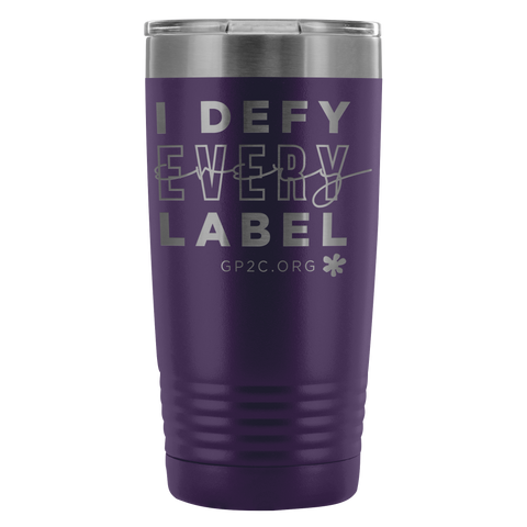 INSULATED TUMBLER 20 OZ.- I DEFY