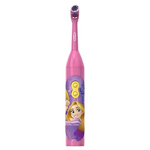 Oral-B Kids Battery Power Toothbrush featuring Disney Princess Characters, Extra Soft Bristles, 1 Count