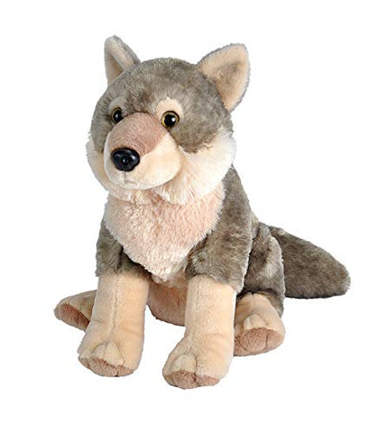 Wild Republic Wolf Plush, Stuffed Animal, Plush Toy, Gifts for Kids, Cuddlekins 12 Inches