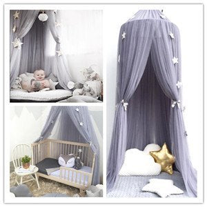 Princess Bed Canopies Premium Yarn Mosquito Net for Kids Room, Play Tent