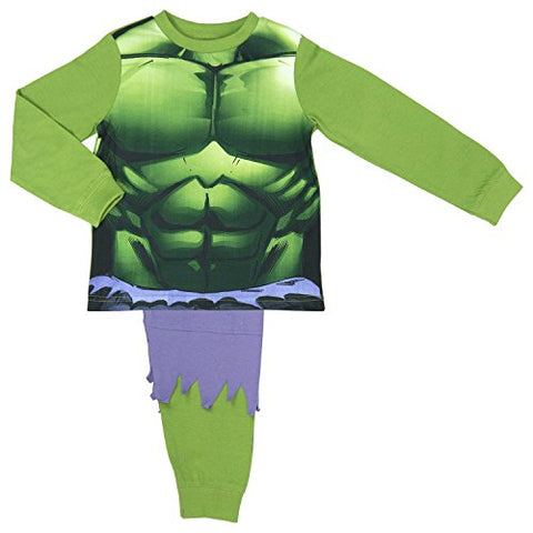 The Incredible Hulk Boys Pyjamas with ripped trouser detai - 7-8 years / 128 cms