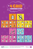 4-Grid Communication Poster