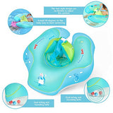 WAITIEE RO-12-Y Free Swimming Baby Inflatable U-shape Underarm Swimming Ring Baby Float for Swimming Pool