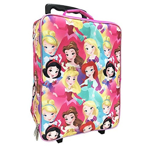 Disney Girls' Princess 3 Pc Luggage Set, Pink