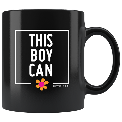 Mug- 11 oz. This Boy Can