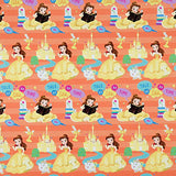 Hallmark Disney Princess Wrapping Paper with Cut Lines (Pack of 3, 105 sq. ft. ttl.)