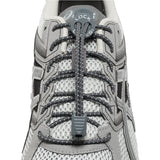 Lock Laces Reflective 2-Pack (Elastic No Tie Shoelaces) (Storm Gray-Storm Gray, 48 inches)