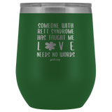 12oz. Stemless Tumbler- Love Needs No Words
