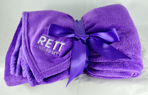 Rett U Extra Plush Fleece Blanket
