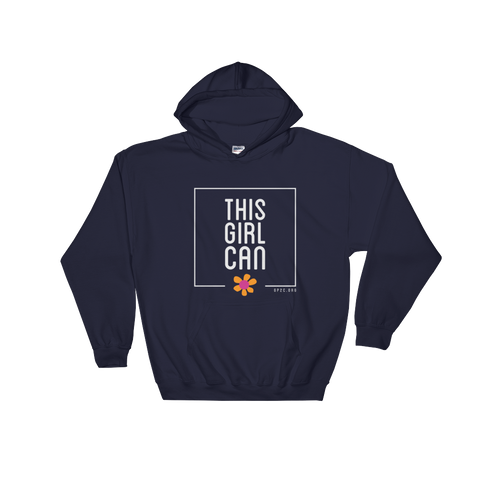 Hooded Sweatshirt- THIS GIRL CAN