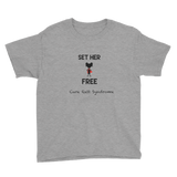 Youth T-Shirt- Set Her Free
