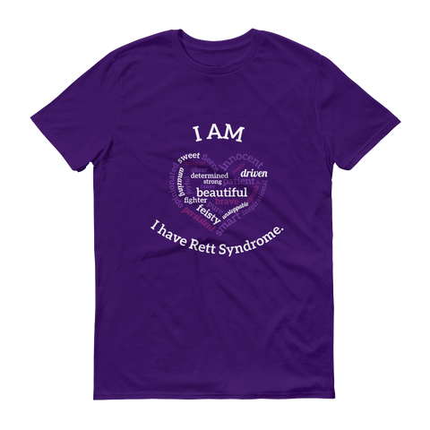Kourtney Barnum T-Shirt- I have Rett Syndrome.
