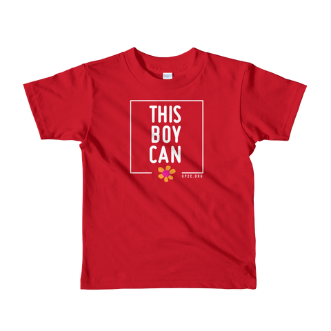 Kids T-shirt- THIS BOY CAN