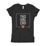 Girl's T-Shirt- THIS GIRL CAN